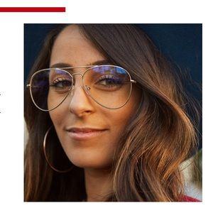 Klassy X Bucci Gold Glasses